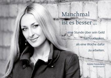 Kundenbooklet in Großansicht downloaden - Walter Fletschberger