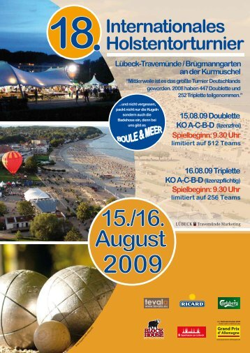 Flyer - Boule Club Kreuzberg