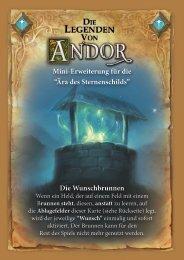 Die Wunschbrunnen - Legenden von Andor