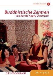 Buddhistische Zentren - Diamantweg Buddhismus in Österreich