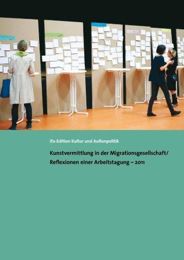Kunstvermittlung in der Migrationsgesellschaft - IfA