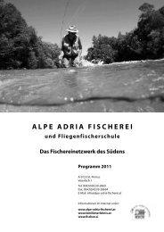 Programm 2011 - Alpe Adria Fischerei