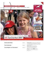 Barmbeker Kurs Nr. 5 September/Oktober 2007 - SPD Barmbek-Mitte