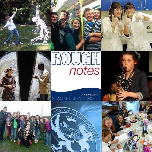 November 2011 Issue - The Woodroffe School