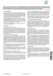 Informationen zum Einsatz von Lebensversicherungen und ...