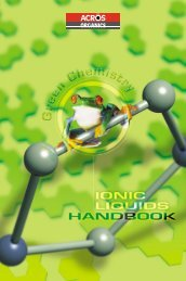 Ionic liquids - Acros Organics