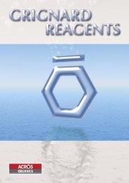 """Grignard"" reagents after their inventor - Acros Organics"