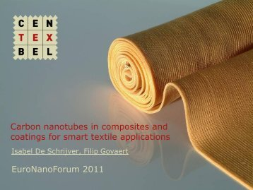 Applicability of nanomaterials in textile applications ...