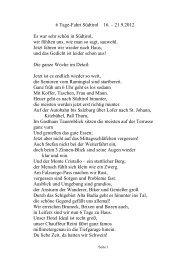 Bericht in Gedichtform von Margarete Buchegger - Seniorenbund ...