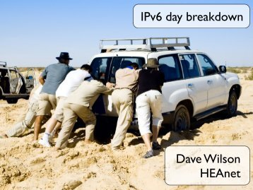 Lessons from World IPv6 day - RIPE 63