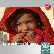 Jahresbericht 2012 - ADRA Österreich
