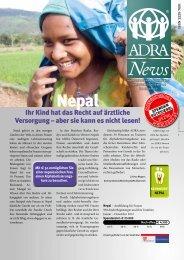 Ihr Kind hat das Recht auf ärztliche Versorgung ... - ADRA Österreich