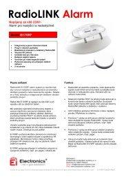 RadioLINK Alarm - Profesionální protipožární systémy