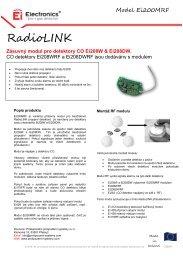 Carbon Monoxide Alarm - Profesionální protipožární systémy