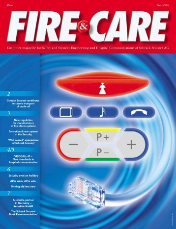 Customer magazine for Safety and Security Engineering and ...