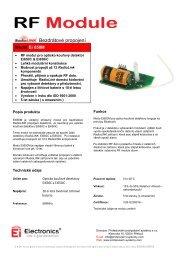 Bezdrátové propojení - Profesionální protipožární systémy