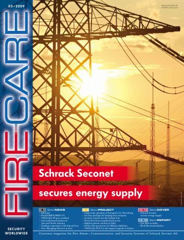 Schrack Seconet secures energy supply