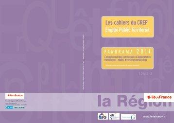 L'emploi au sein des CA franciliennes - CDG77