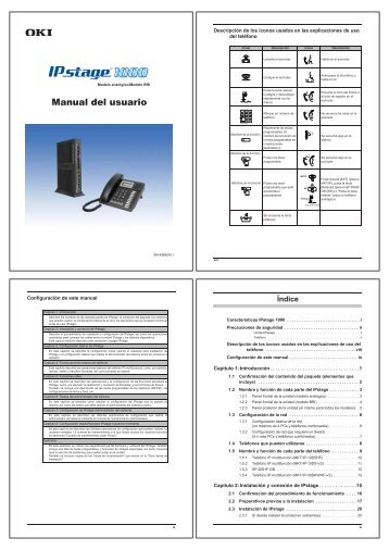 IPstage1000 Manual del usuario - Innovamer Comunicaciones