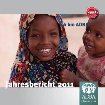 Jahresbericht 2011 - ADRA Österreich