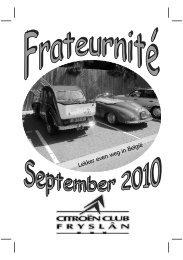 10-03 Frateurnité September 2010 - Citroën Club Friesland