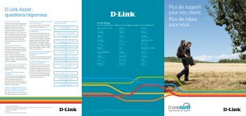 D-Link Assist : questions/réponses