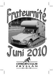 10-02 Frateurnité Juni 2010 - Citroën Club Friesland