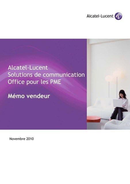 Alcatel Pme Solutions De Pour Lucent Office Communication 3R4Lj5A