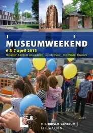 MUSEUMWEEKEND - Historisch Centrum Leeuwarden