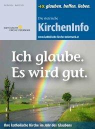 Ich glaube. Es wird gut. - Diözesaner Weg - Diözese Graz-Seckau
