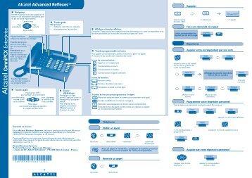 Guide rapide poste Advanced - TL systèmes