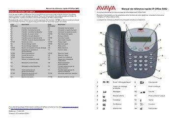 Manuel poste 5402 Simplifié - TL systèmes
