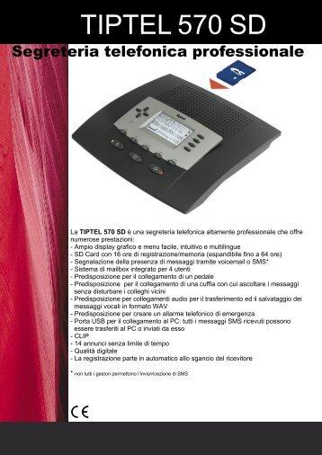 TIPTEL 570 SD - Siltel