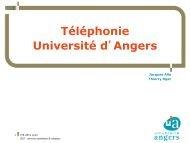 2 500 postes téléphoniques - Comité Réseau des Universités