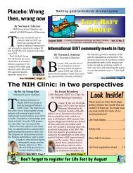 Global GIST Patient Community Declaration - The Life Raft Group