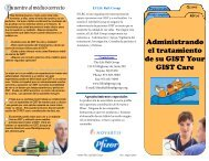 Managing GIST Care-Spanish - The Life Raft Group