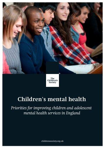Children's mental health - Final