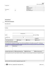 Allgemeine Richtlinien Vergabeverfahren