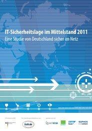 Studie IT-Sicherheitslage im Mittelstand 2011 - Deutschland sicher ...