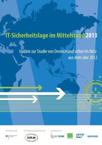 IT-Sicherheitslage im Mittelstand 2013.pdf - E-Mail Sicherheit, E ...
