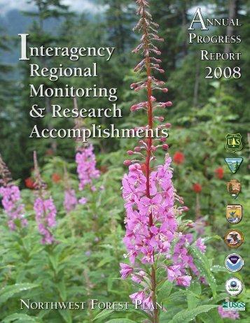 Annual Report - 2008 - Regional Ecosystem Office