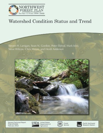 Status and Trend of Watershed Condition - Regional Ecosystem Office