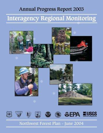 Annual Report 2003 - Regional Ecosystem Office