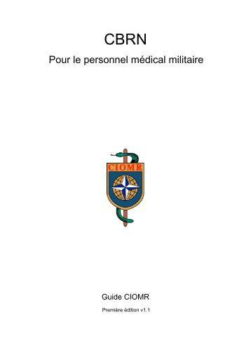 Pour le personnel médical militaire - ciomr
