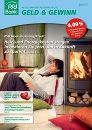 und Energiekosten steigen. Investieren Sie jetzt ... - PSD Bank Kiel eG