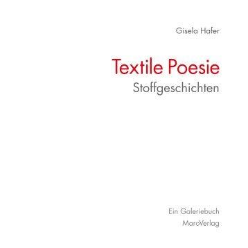 Leseprobe Textile Poesie – Stoffgeschichten