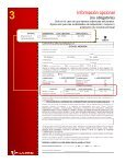 GUIA de llenado Planilla SEGURO VIT - Banco de Venezuela - Page 6