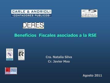 Beneficios Fiscales asociados a la RSE - Deres