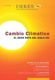 Cambio Climatico - Deres