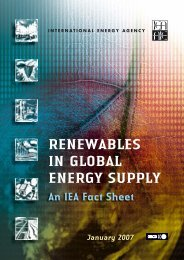 Renewables in Global Energy Supply